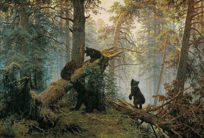 moscou galeria tretiakova shishkin floresta pinheiros