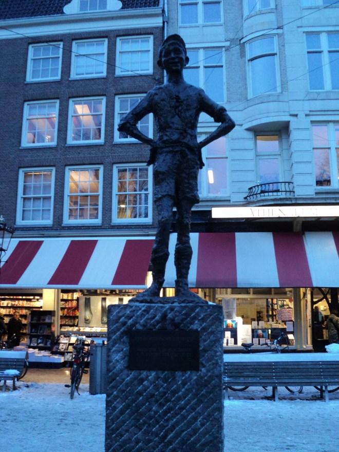 Praça Amsterdam Het spui feira livros