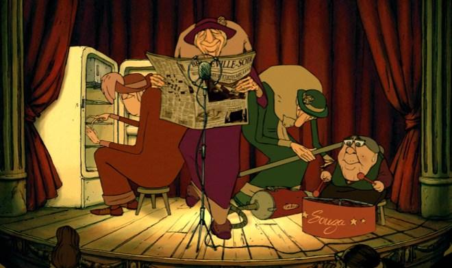 livros filmes viagem frança animação bicicletas belleville sylvain chomet