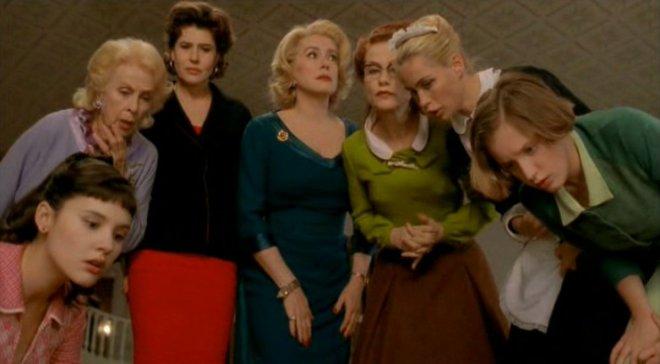 livros filmes viagem frança oito mulheres françois ozon