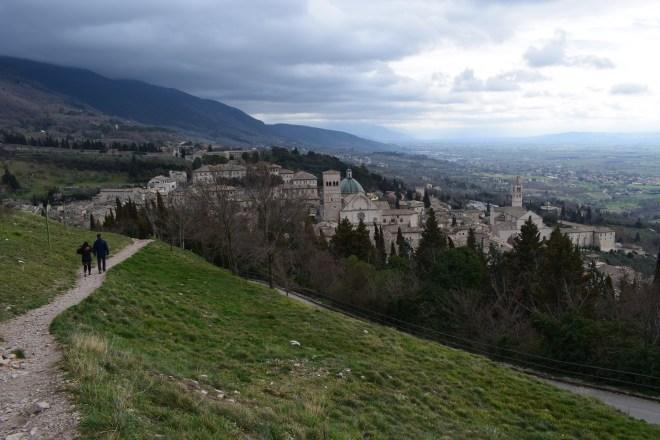 Assis Umbria Rocca maggiore castelo vista 1