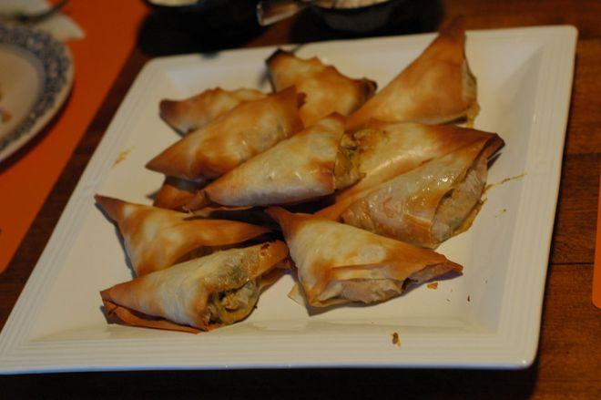 Marrocos comida típica provar briouat