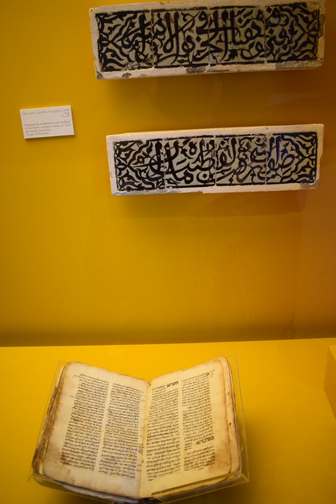 Marrocos Tangier museu arte kasbah caligrafia