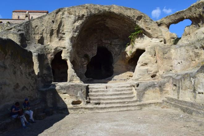 Uplistsikhe cidade cavernas Georgia templo das amoras