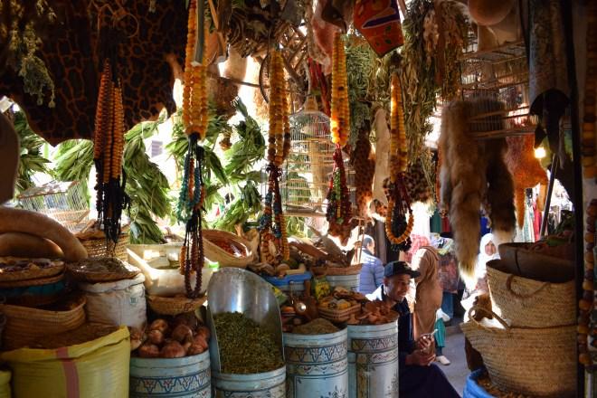Marrakech medina farmácia bérbere 1