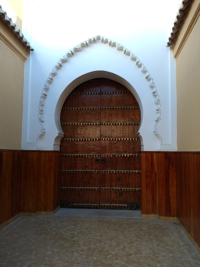 Marrakech medina porta