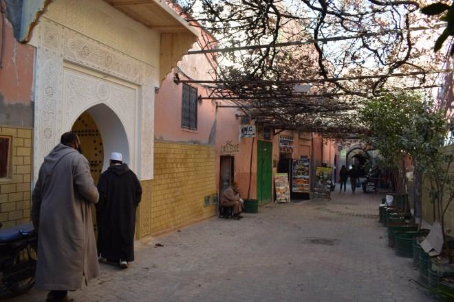 Marrakech medina ruas 2
