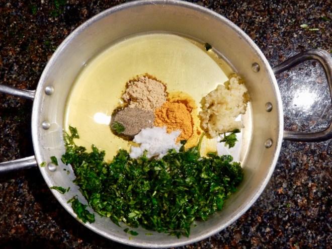 Marrocos aula culinária café clock temperos
