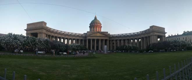 Petersburgo avenida nevski catedral kazan