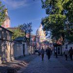 Petersburgo avenida nevski monasterio aleksandr nevski