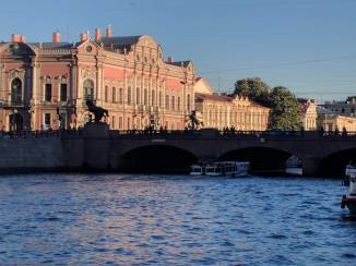 Petersburgo avenida nevski ponte anichkov 2
