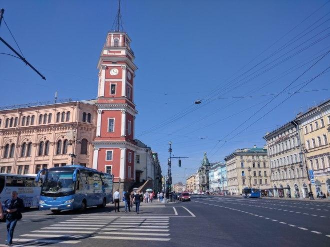 Petersburgo avenida nevski torre duma