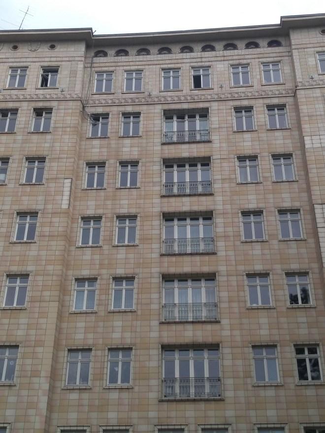 Berlim Karl Marx Allee bairro arquitetura reconstrução 4