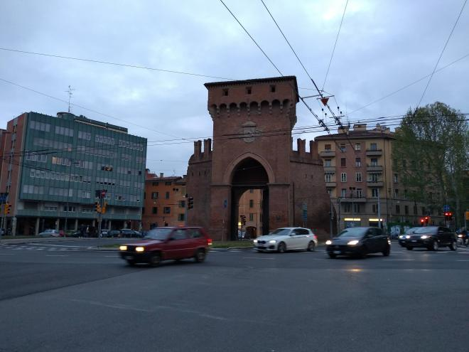 Bologna muros medievais Porta San Felice
