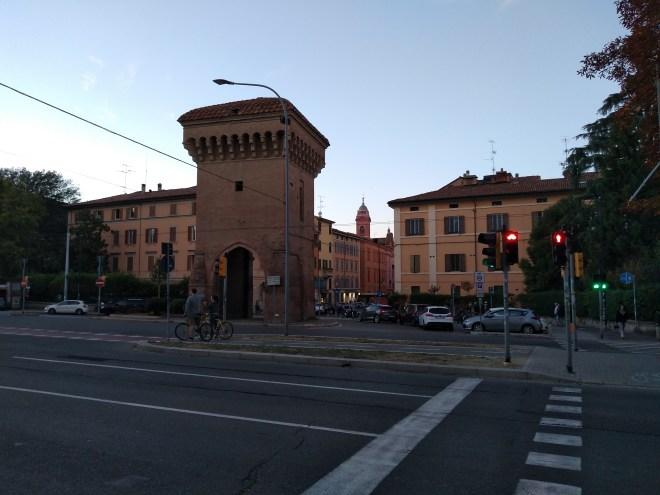 Bologna muros medievais Porta castiglione