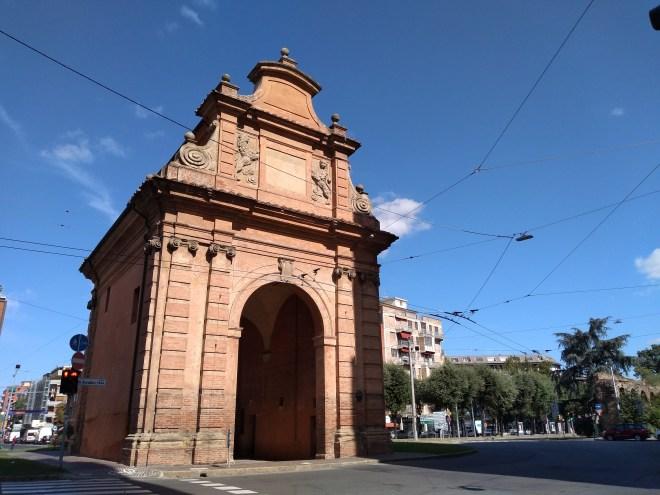 Bologna muros medievais Porta lame