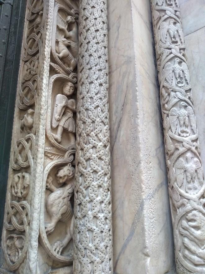 Genova catedral san lorenzo detalhe