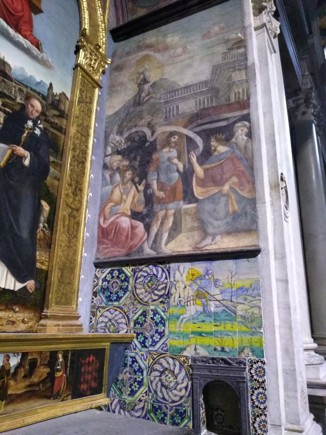 Genova santa maria castello azulejos