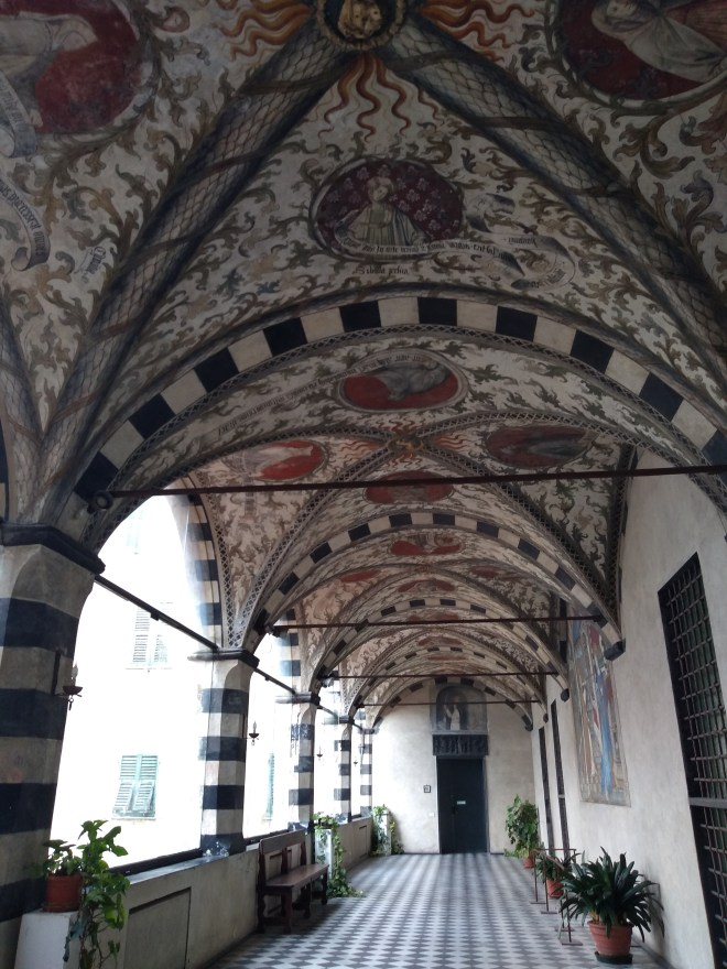 Genova santa maria castello loggia