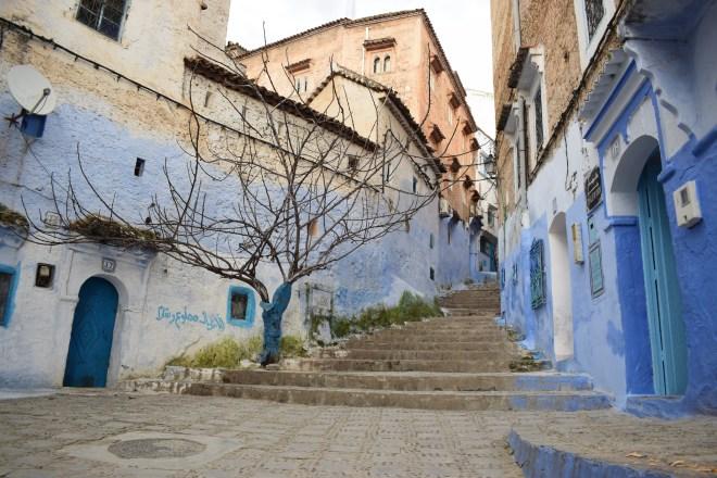Marrocos Chefhaouen cidade azul ruas 3