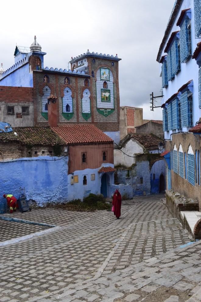 Marrocos Chefhaouen cidade azul ruas 5