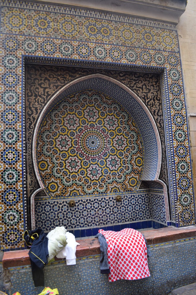 Marrocos Fez fonte al-Najjariyyin