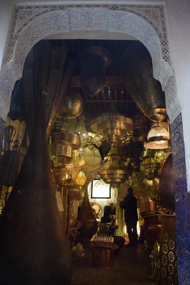 Marrocos Fez medina loja