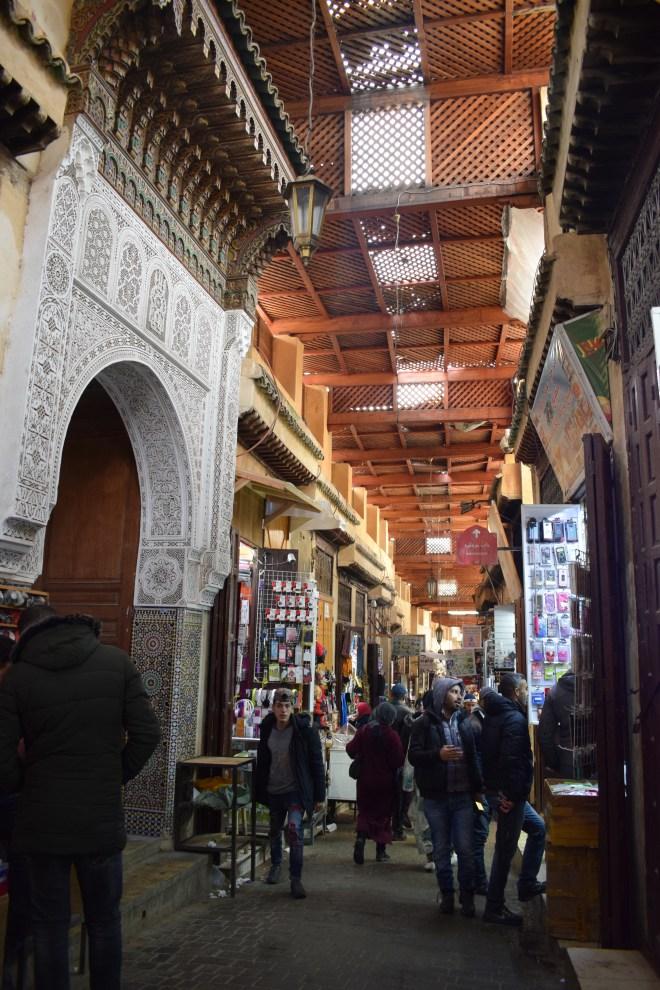 Marrocos Fez ruas souqs