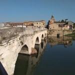 Rimini ponte romana tiberio