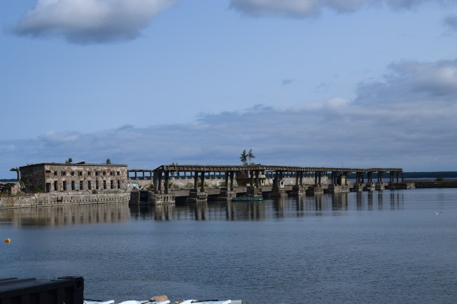 Estonia estação submarinos abandonada Hara 4