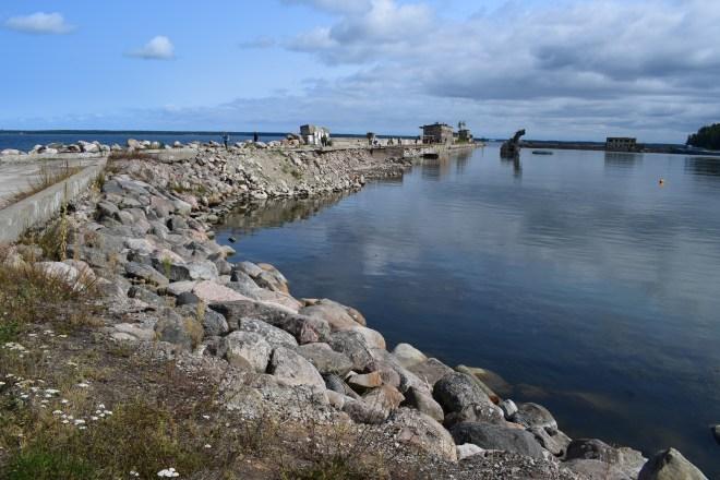 Estonia estação submarinos abandonada Hara 5