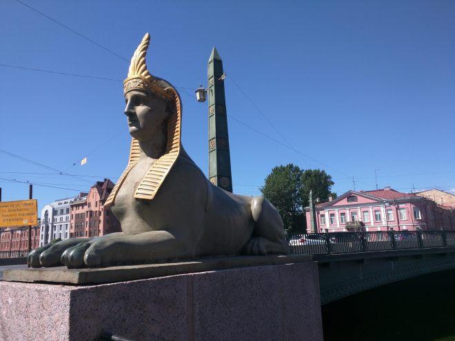 Petersburgo canais pontes egipcia