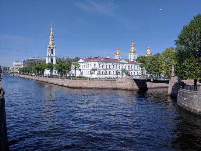 Petersburgo canais pontes igreja são nicolas marinheiro