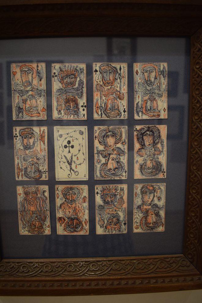 Yerevan casa museu cineasta Parajanov baralho feito no gulag