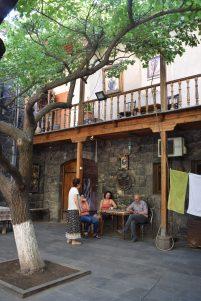 Yerevan casa museu cineasta Parajanov pátio