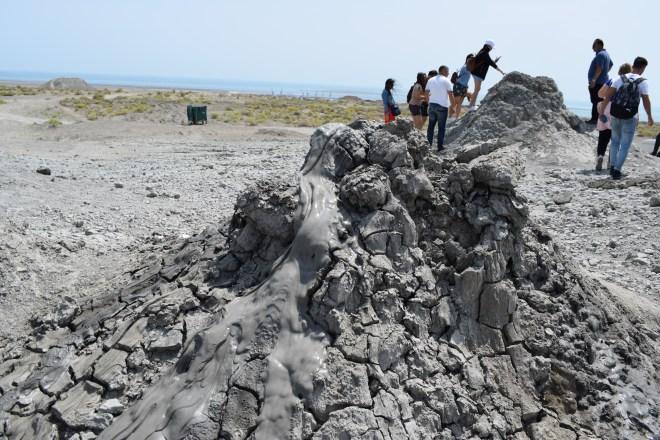 Azerbaijão Qobustan vulcões de lama 1