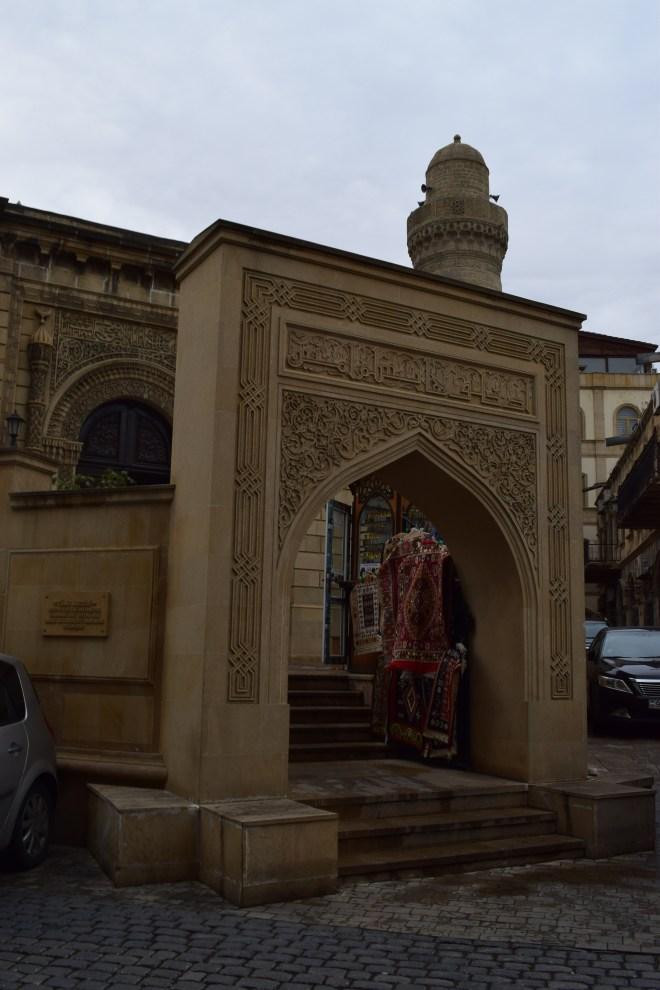 Baku mesquita centro