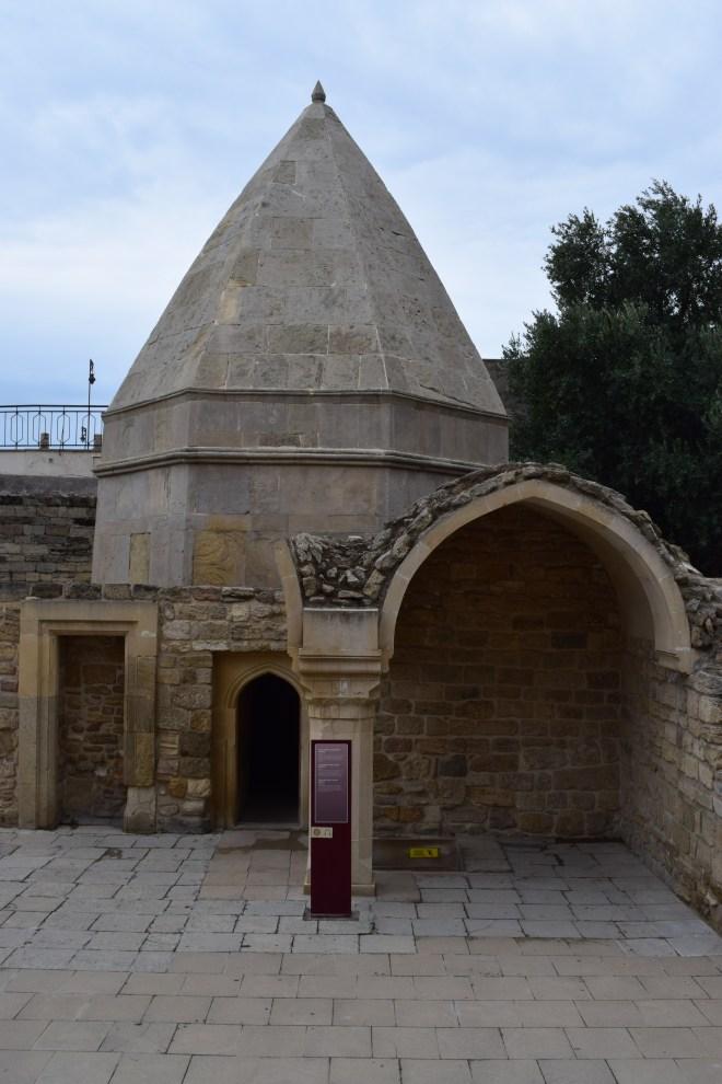 Baku palácio Shirvanshah mesquita Key Bubad