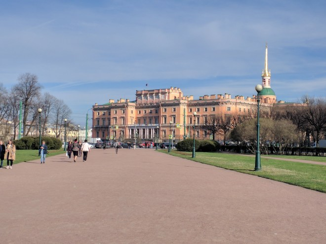 Museu russo Petersburgo castelo Mikhailovski engenheiros