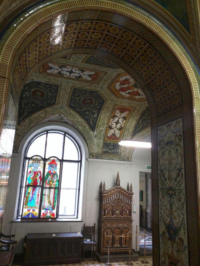 Petersburgo bairro Smolni escola artes decorativas Stieglitz salas italianas
