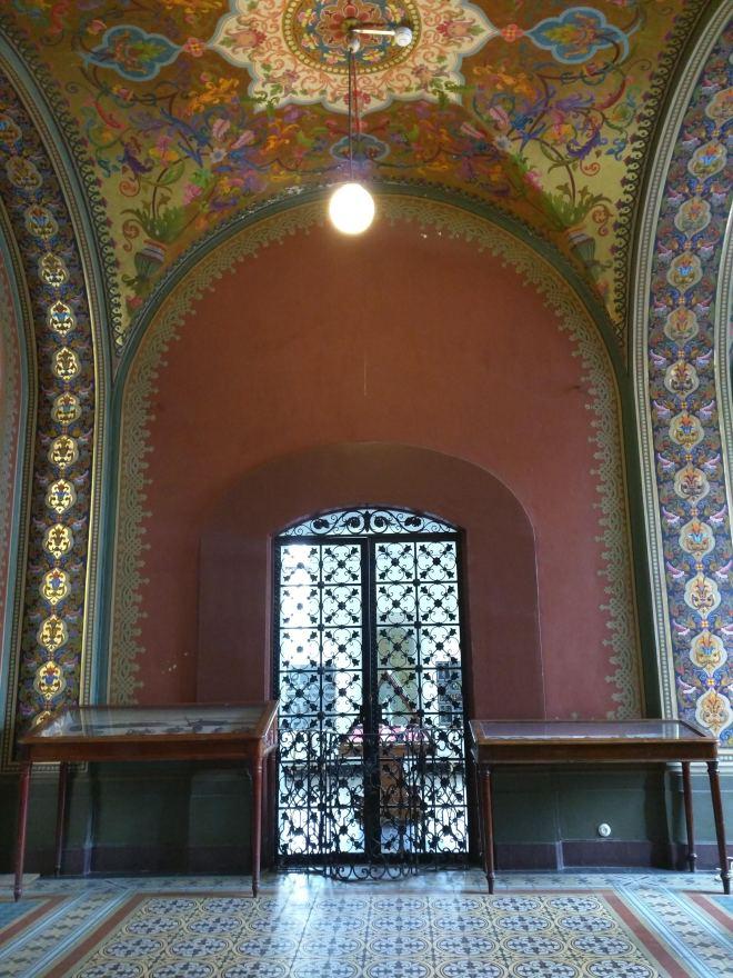 Petersburgo bairro Smolni Stieglitz sala medieval Terem 3