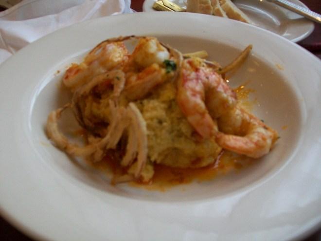 pratos tipicos provar veneto veneza scampi polenta