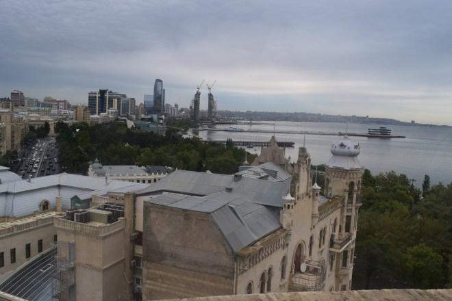 Torre da donzela vista Baku 3