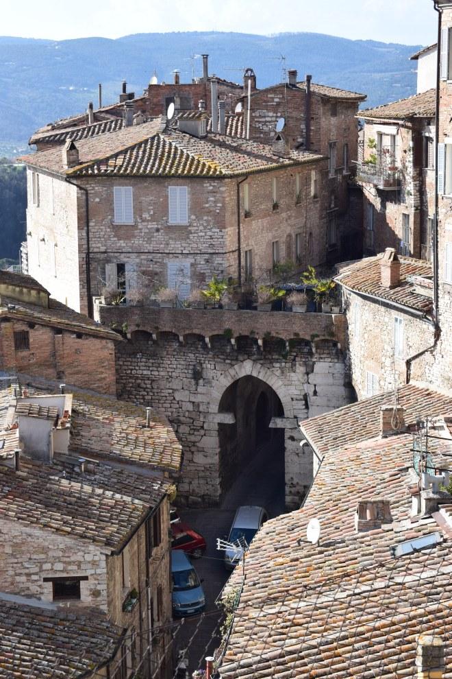 Perugia muralhas portas