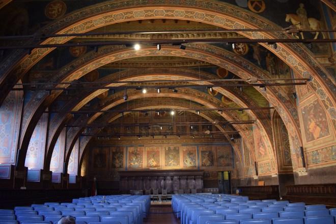 Perugia palazzo dei priori sala dei notari 2