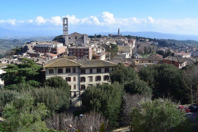 Perugia vista muralhas 2
