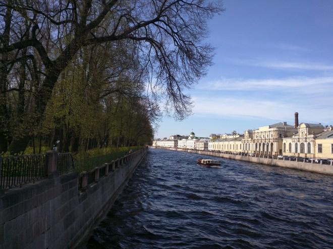 Russia Petersburgo parques jardim de verão canal