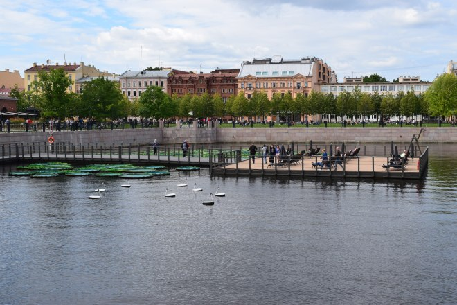 Russia Petersburgo parques novaya gollandia
