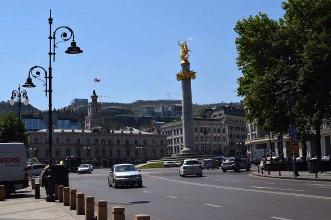Tbilisi Rustavelli praça liberdade