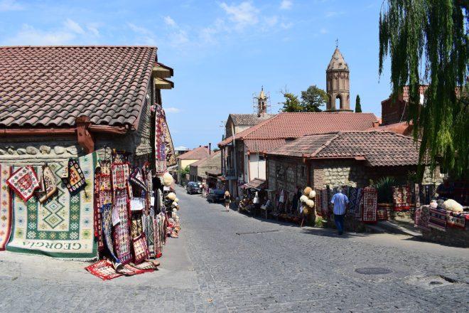 Georgia Sighnaghi centro historico